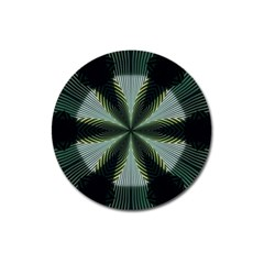 Lines Abstract Background Magnet 3  (round)