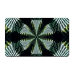 Lines Abstract Background Magnet (rectangular)