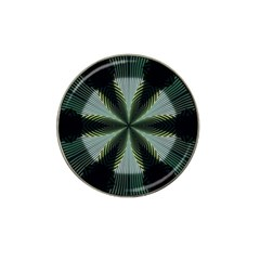 Lines Abstract Background Hat Clip Ball Marker (10 Pack)