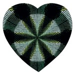 Lines Abstract Background Jigsaw Puzzle (Heart) Front