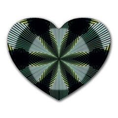 Lines Abstract Background Heart Mousepads