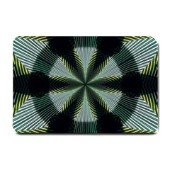 Lines Abstract Background Small Doormat
