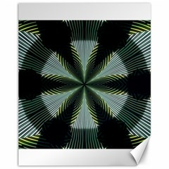 Lines Abstract Background Canvas 11  X 14