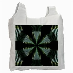 Lines Abstract Background Recycle Bag (two Side)