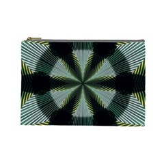 Lines Abstract Background Cosmetic Bag (large)