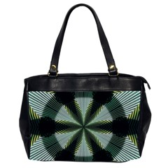 Lines Abstract Background Office Handbags (2 Sides)