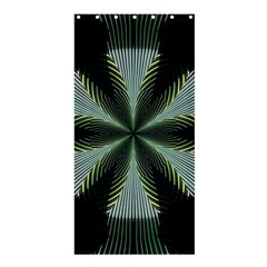 Lines Abstract Background Shower Curtain 36  X 72  (stall)