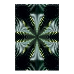 Lines Abstract Background Shower Curtain 48  x 72  (Small)