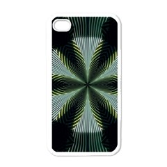 Lines Abstract Background Apple Iphone 4 Case (white)