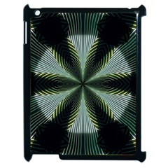 Lines Abstract Background Apple Ipad 2 Case (black)