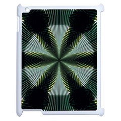 Lines Abstract Background Apple Ipad 2 Case (white)