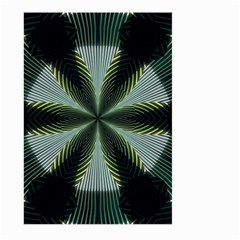 Lines Abstract Background Large Garden Flag (two Sides)
