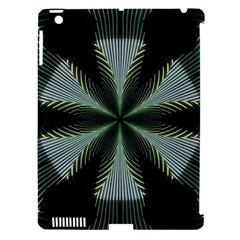 Lines Abstract Background Apple Ipad 3/4 Hardshell Case (compatible With Smart Cover)