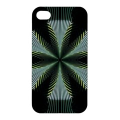 Lines Abstract Background Apple Iphone 4/4s Premium Hardshell Case