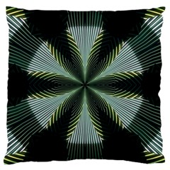 Lines Abstract Background Large Cushion Case (one Side)