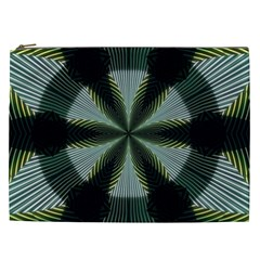 Lines Abstract Background Cosmetic Bag (xxl)