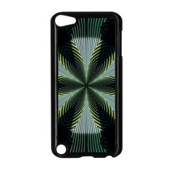 Lines Abstract Background Apple Ipod Touch 5 Case (black)