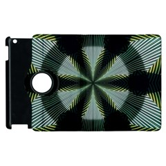 Lines Abstract Background Apple Ipad 3/4 Flip 360 Case
