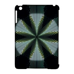 Lines Abstract Background Apple Ipad Mini Hardshell Case (compatible With Smart Cover)