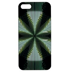 Lines Abstract Background Apple Iphone 5 Hardshell Case With Stand