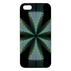 Lines Abstract Background Apple Iphone 5 Premium Hardshell Case