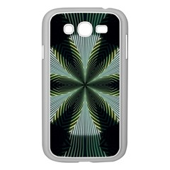 Lines Abstract Background Samsung Galaxy Grand Duos I9082 Case (white)