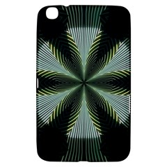 Lines Abstract Background Samsung Galaxy Tab 3 (8 ) T3100 Hardshell Case