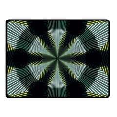 Lines Abstract Background Double Sided Fleece Blanket (small)