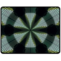 Lines Abstract Background Double Sided Fleece Blanket (medium)