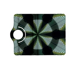 Lines Abstract Background Kindle Fire Hd (2013) Flip 360 Case