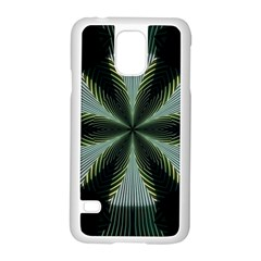 Lines Abstract Background Samsung Galaxy S5 Case (white)