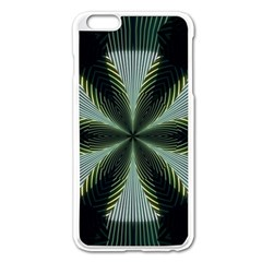 Lines Abstract Background Apple Iphone 6 Plus/6s Plus Enamel White Case