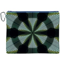 Lines Abstract Background Canvas Cosmetic Bag (xxxl)