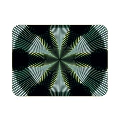 Lines Abstract Background Double Sided Flano Blanket (mini)