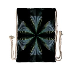 Lines Abstract Background Drawstring Bag (small)