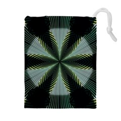 Lines Abstract Background Drawstring Pouches (extra Large)