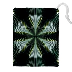 Lines Abstract Background Drawstring Pouches (xxl)