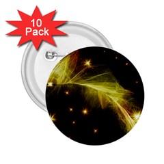 Particles Vibration Line Wave 2.25  Buttons (10 pack)