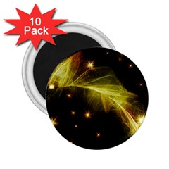 Particles Vibration Line Wave 2 25  Magnets (10 Pack)