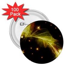 Particles Vibration Line Wave 2 25  Buttons (100 Pack)