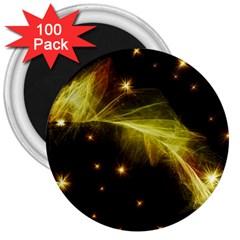 Particles Vibration Line Wave 3  Magnets (100 Pack)
