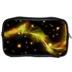 Particles Vibration Line Wave Toiletries Bags