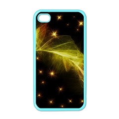 Particles Vibration Line Wave Apple Iphone 4 Case (color)
