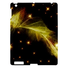 Particles Vibration Line Wave Apple Ipad 3/4 Hardshell Case