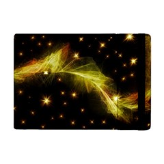 Particles Vibration Line Wave Apple Ipad Mini Flip Case
