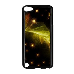 Particles Vibration Line Wave Apple iPod Touch 5 Case (Black)