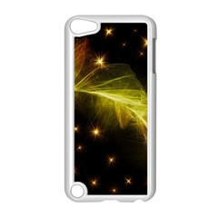 Particles Vibration Line Wave Apple Ipod Touch 5 Case (white)