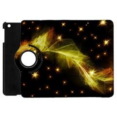 Particles Vibration Line Wave Apple iPad Mini Flip 360 Case