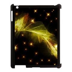 Particles Vibration Line Wave Apple Ipad 3/4 Case (black)