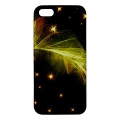 Particles Vibration Line Wave Apple Iphone 5 Premium Hardshell Case
